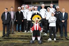 Showing support for Blades community visit day