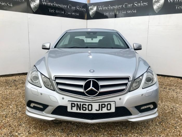 Mercedes-Benz E Class 3.0 E350 CDI BlueEFFICIENCY Sport 2dr Tip Auto FDSH SAT-NAV CRUISE 18 INCH ALLOYS £1000 OFF Coupe Diesel Silver